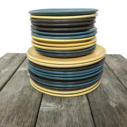 red clay coloured plates.JPG