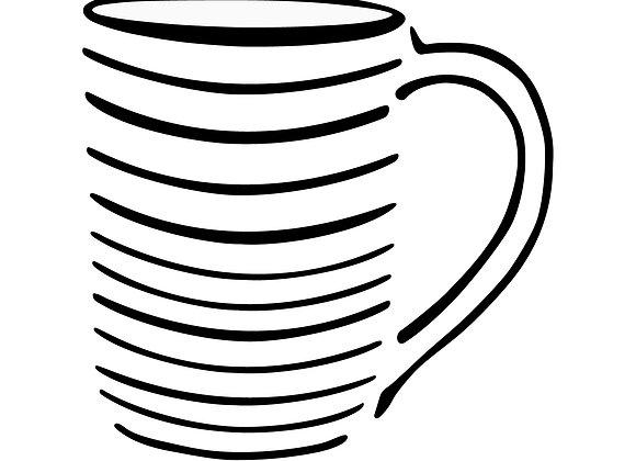Grey Classic Mug