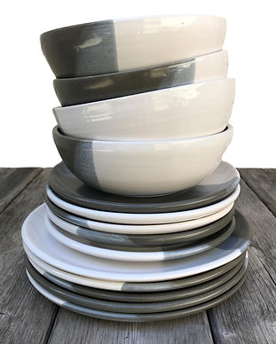 white clay stripe dishes.JPG