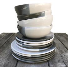 white clay stripe dishes.JPG