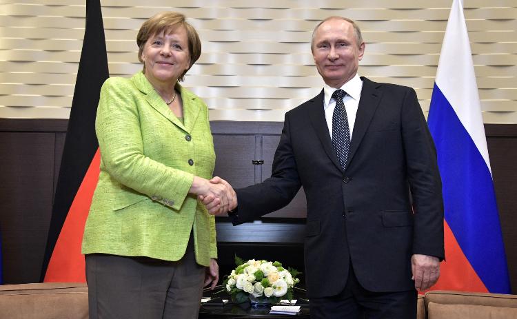 Incontro tra Merkel e Putin