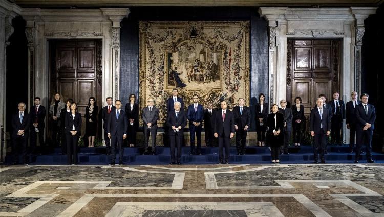 Foto di rito del nuovo Governo