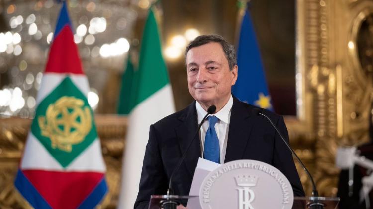 Il Primo Ministro Mario Draghi
