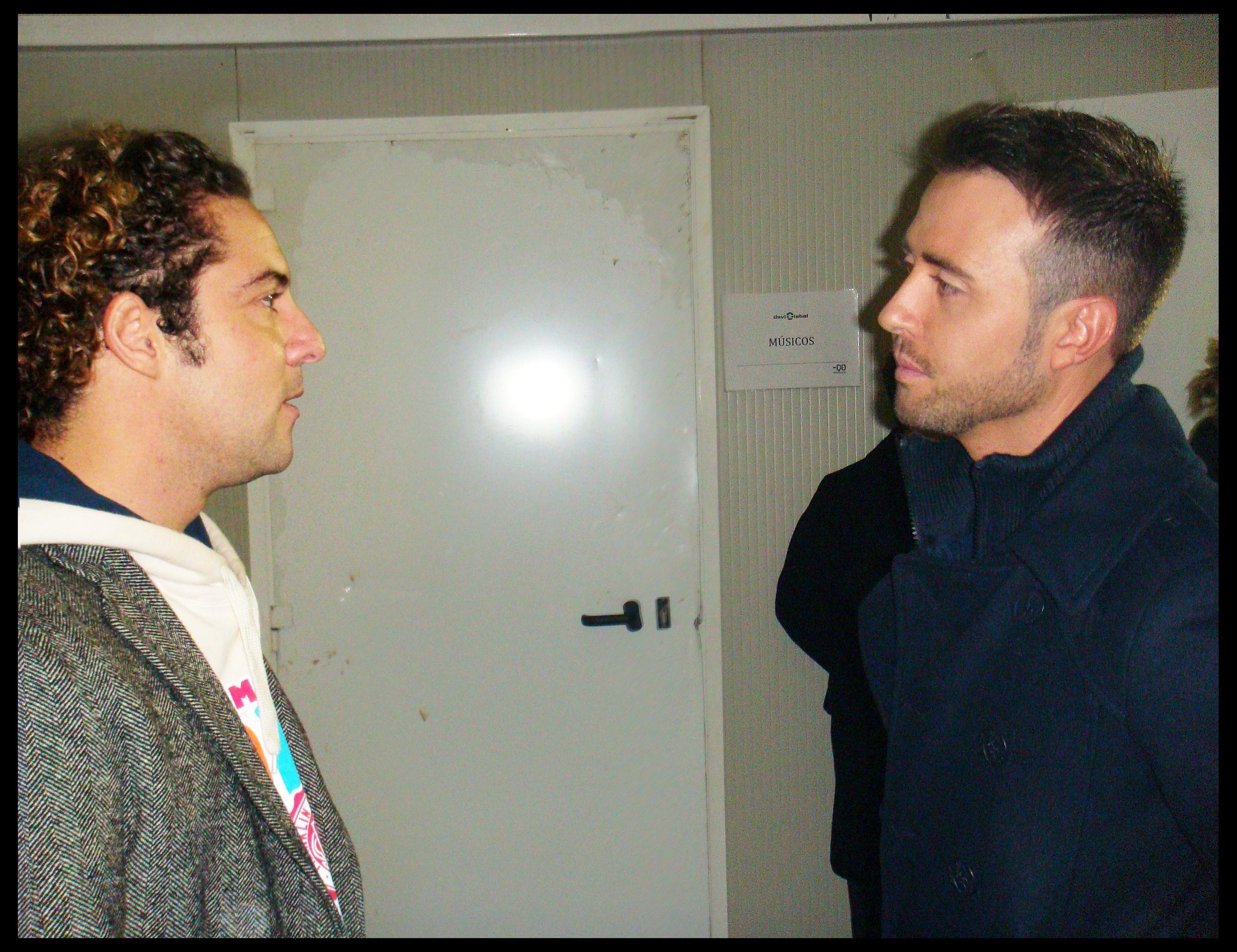 Con David Bisbal