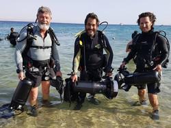 Diver Propulsion Vehicles for a dive