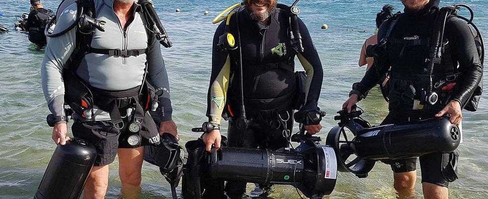 PADI Diver Propulsion Vehicle / Underwater Navigator
