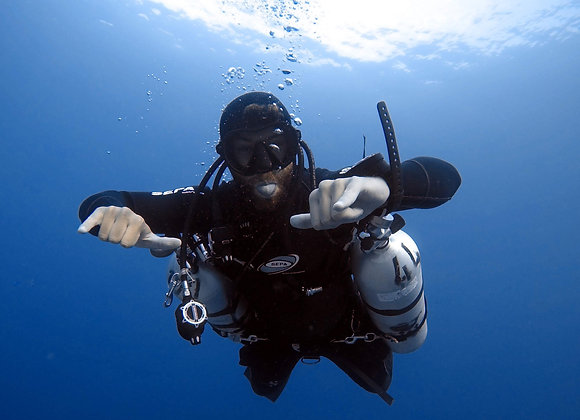 Night Specialty/Sidemount Course