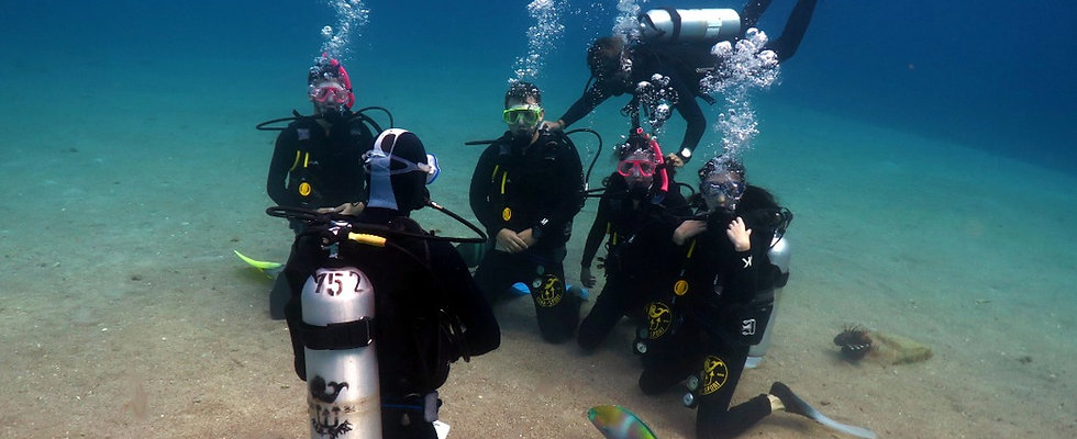 PADI Scuba Diver Course (English) in Taba
