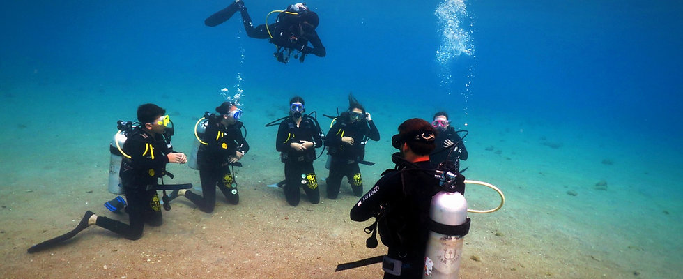 Upgrade from Scuba Diver to Open Water Diver in Taba