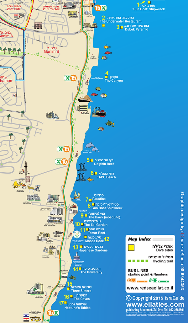Eilat Dive Sites