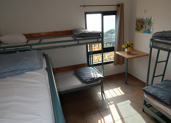 Hostel Standard Room - Private Room (6 guests or less) Including Breakfast