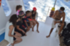 Dive Briefing on the Aqua Sport Taba Boat