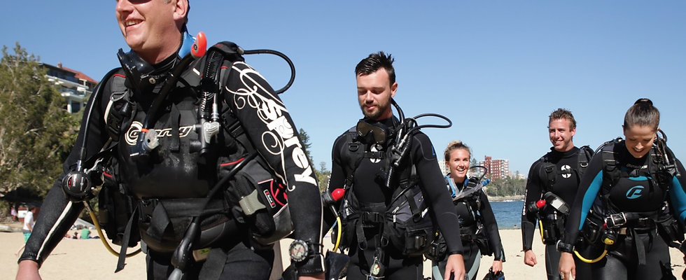 PADI DiveMaster Course in Taba