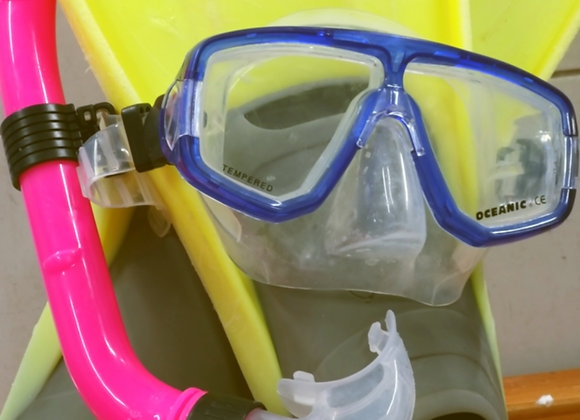 Mask, Snorkel and Fins Rental in Taba