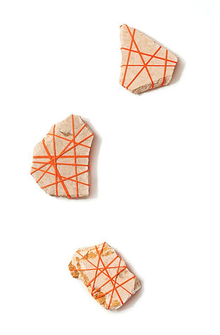 Rock Bondage, Sunny Yellow marble from Egypt, variables sizes, 2020.