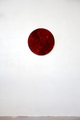 Série Red 20.02, mixed media, 50 cm, 202