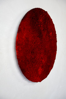 Red 20. 01, mixed media, 50 cm, 202
