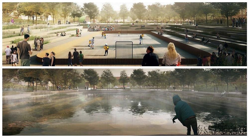 Enghave Park Proposal - Copenhagen by Tredje Natur Architects, Cowi and Platant
