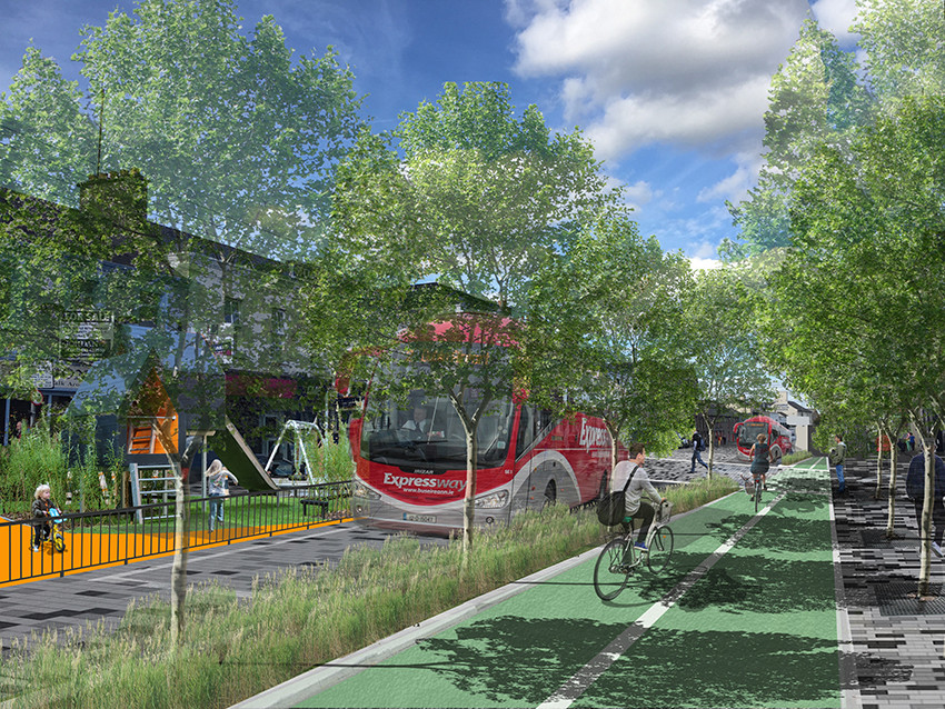 Vision for an upgraded Mainstreet