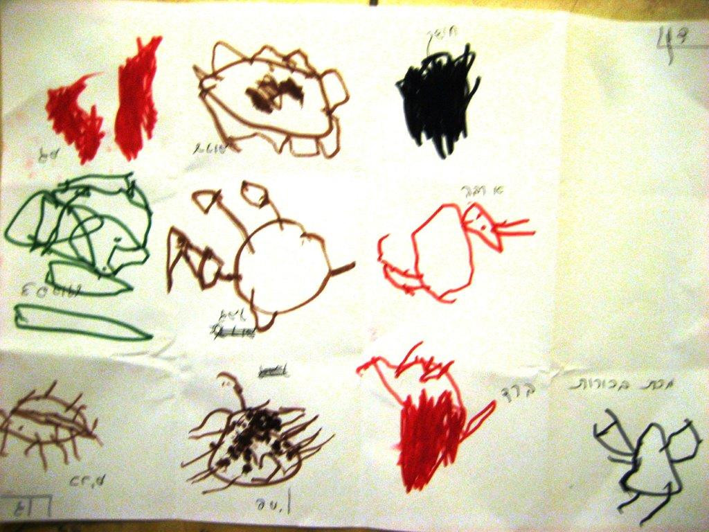 DH, age 3.5, Ten Plagues