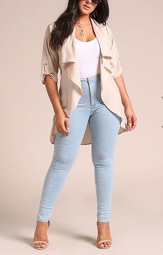 Plus Classic High Waist Skinny Jeans