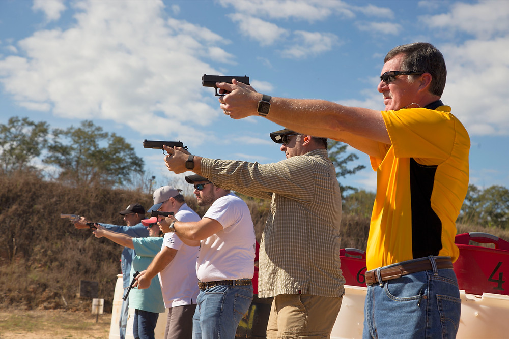 Students in the MS Enhanced Carry Permit Course taught to Joseph Green