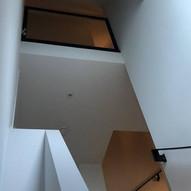 Glad stucwerk trappengat