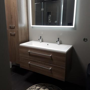 Badkamer stucwerk