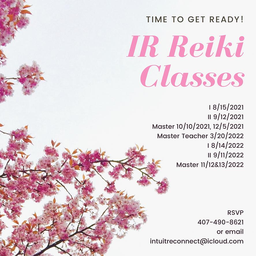 reiki classes at community center 729