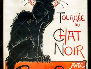 Reflections on Le Chat Noir