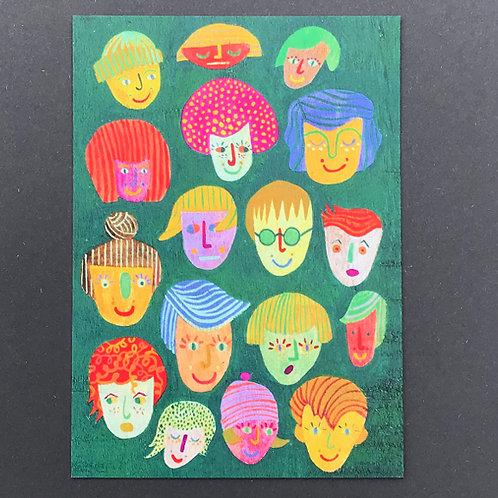 We Are Each Unique Art Print