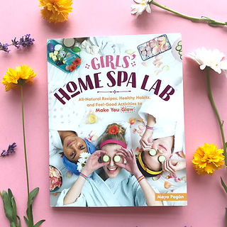 Girls' Home Spa Lab Book Storey Publishing