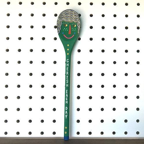 Celebrate Each Day Art Spoon