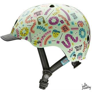 Nutcase helmet Julz Nally