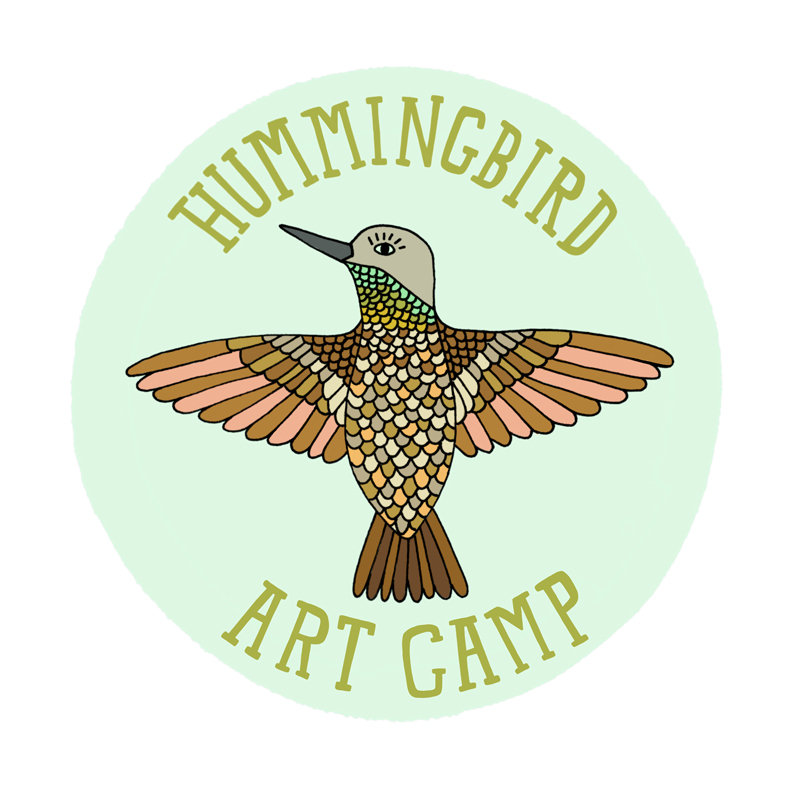 Hummingbird Art Camp : Aug 5 -9, 2019