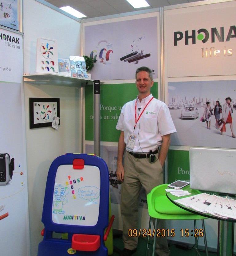 Phonak en ExpoMedica 2015