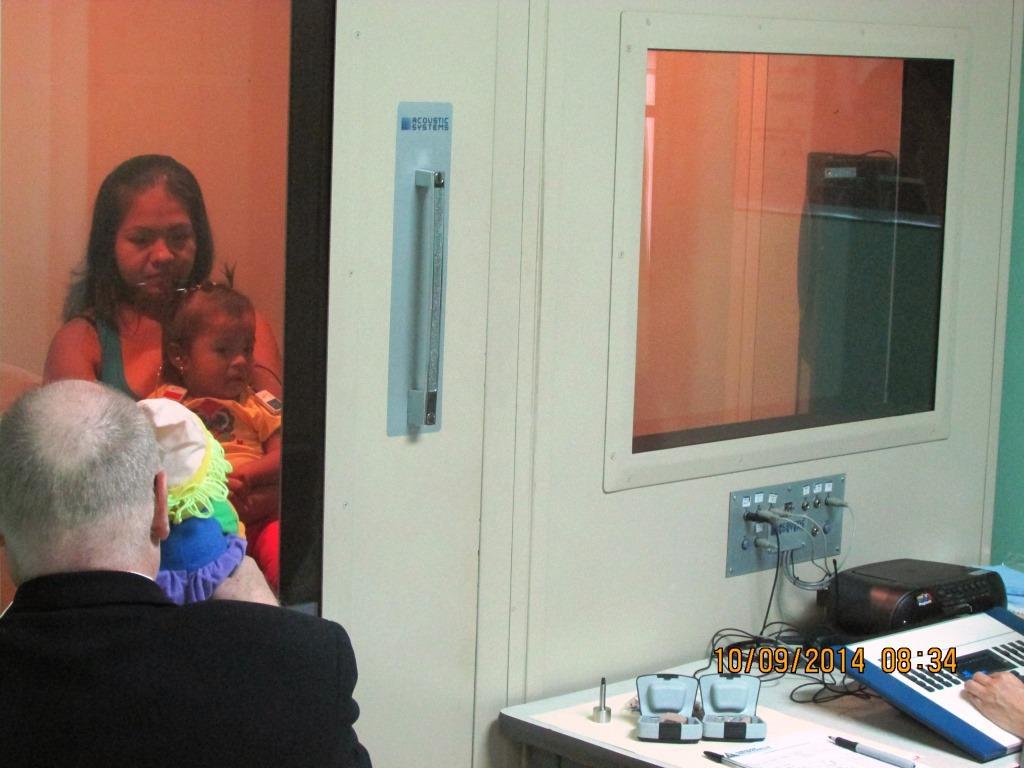 Veificación - Audiometría en cabina