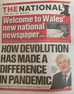 The National: first view of Wales' new national newspaper