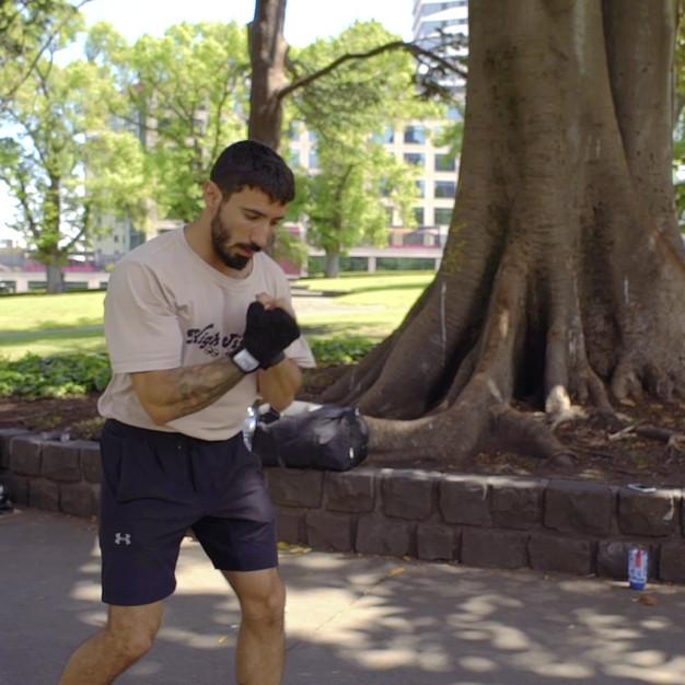 Paul Boxing Training