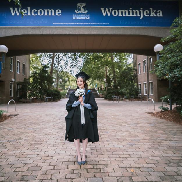 Mia's Graduation Photography