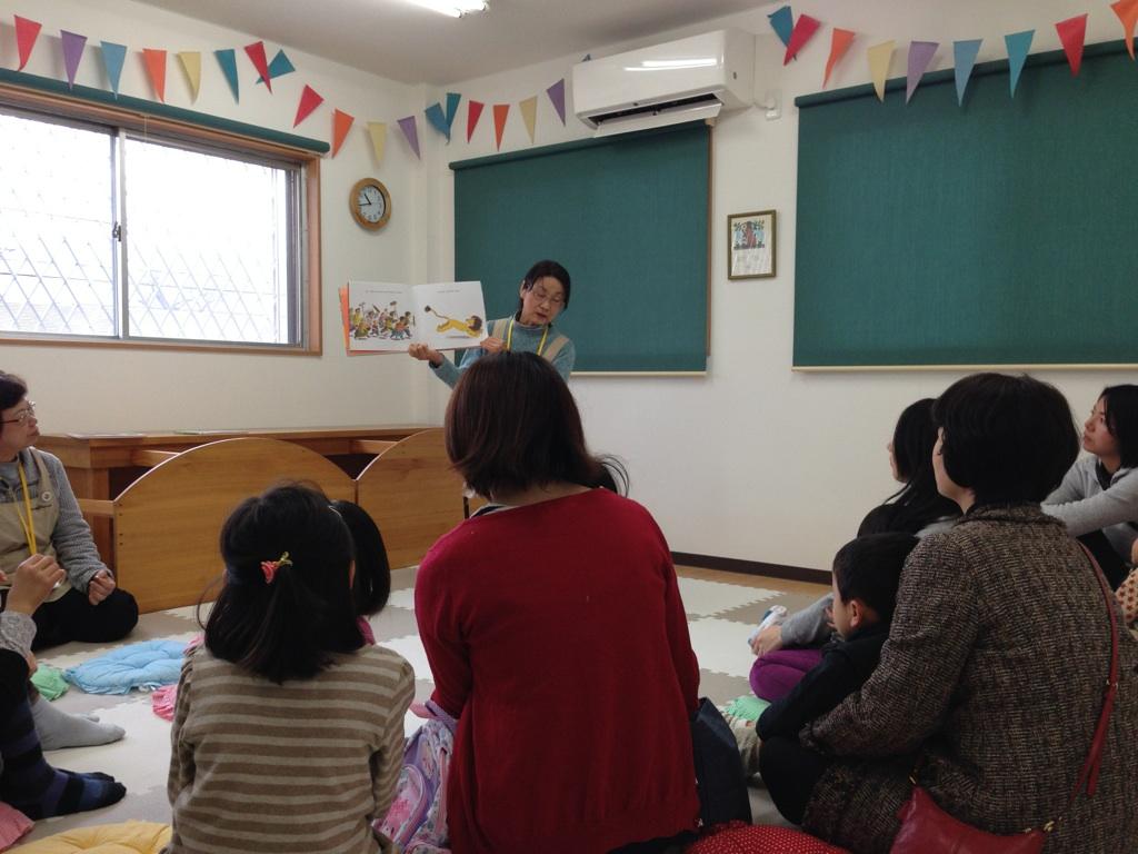 2014 はるのおはなし会 2014.3.15
