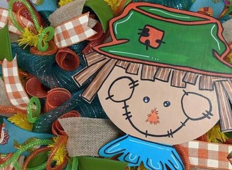 Scarecrow Wreath Tutorial