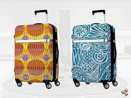 Si cuando llueve ves paraguas, cuando viajas ves maletas...