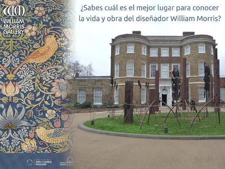 ¿Sabes cuál es el mejor lugar para conocer la obra del diseñador inglés William Morris?