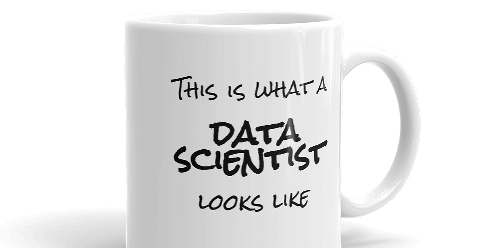 'This is what a data scientist looks like' Mug