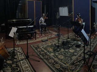 AQUILA in the studio!