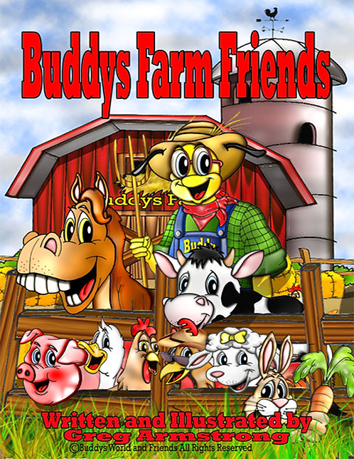 Buddys Farm Friends (hardcover)
