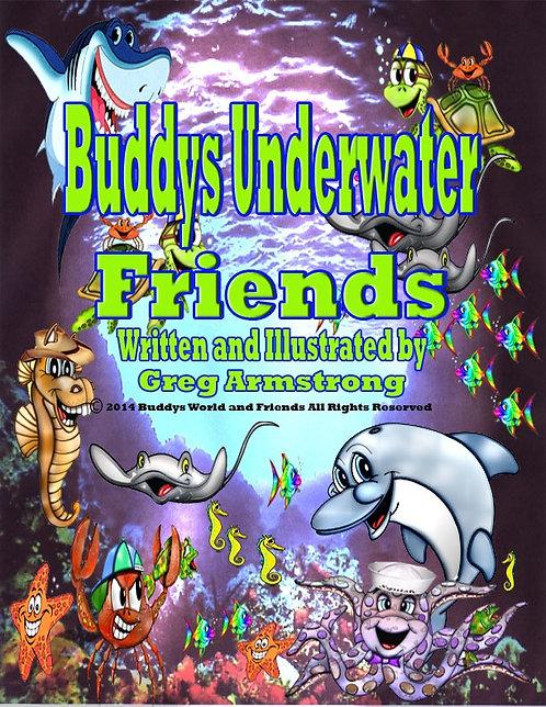 Buddy's Underwater Friends (hardcover)