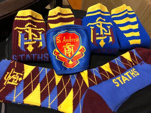STATHS Socks Gift Set/Mask - Royal $35 US
