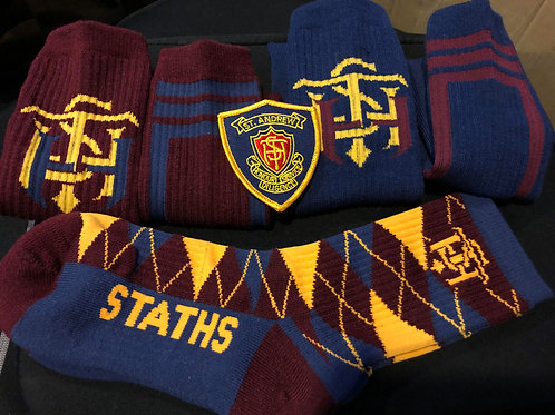 STATHS Socks 3 pk/Crest  Gift Set Navy $35 US